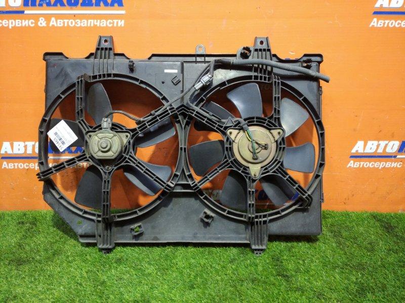 Вентилятор радиатора Nissan Liberty PM12 SR20DE 1998 2 вент