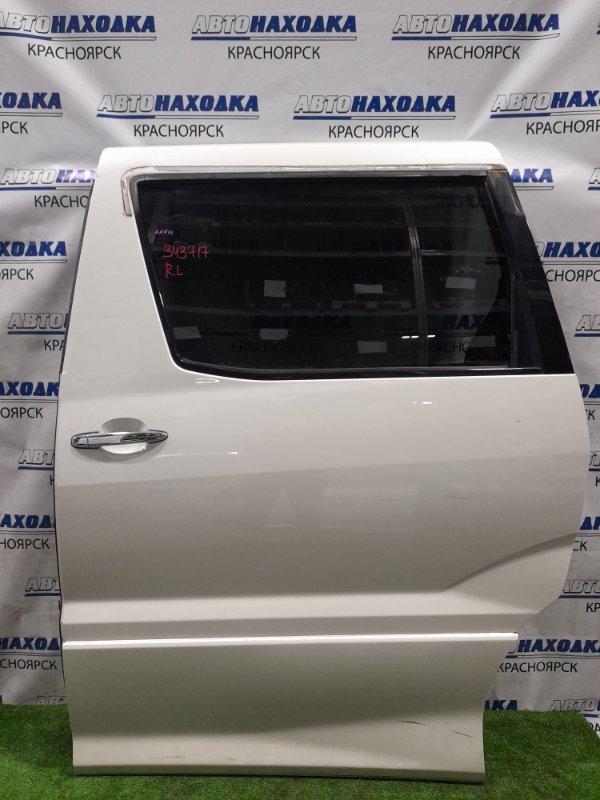 Дверь Toyota Alphard ANH10W 2AZ-FE 2002 задняя левая Задняя левая, без нижней части обшивки. , цвет 042.