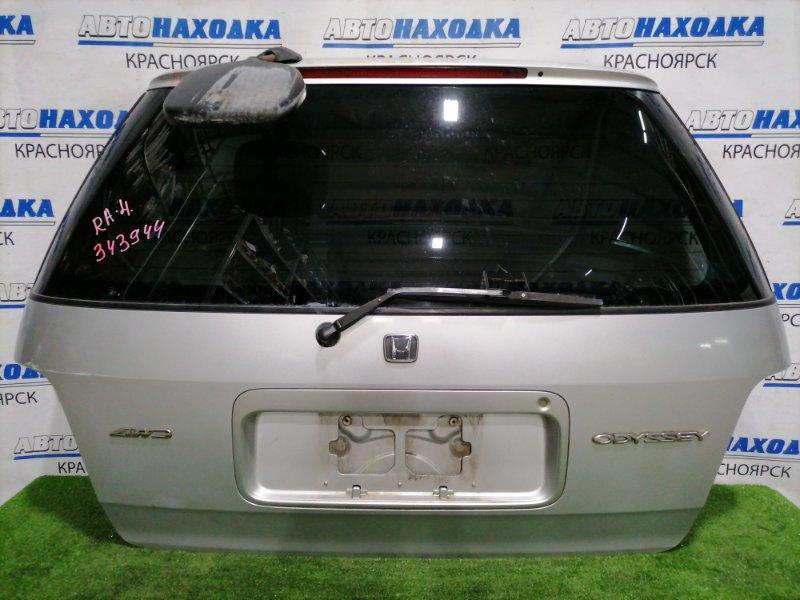 Дверь задняя Honda Odyssey RA4 F23A 1997 задняя В сборе, с зеркалом ( без зеркального элемента),