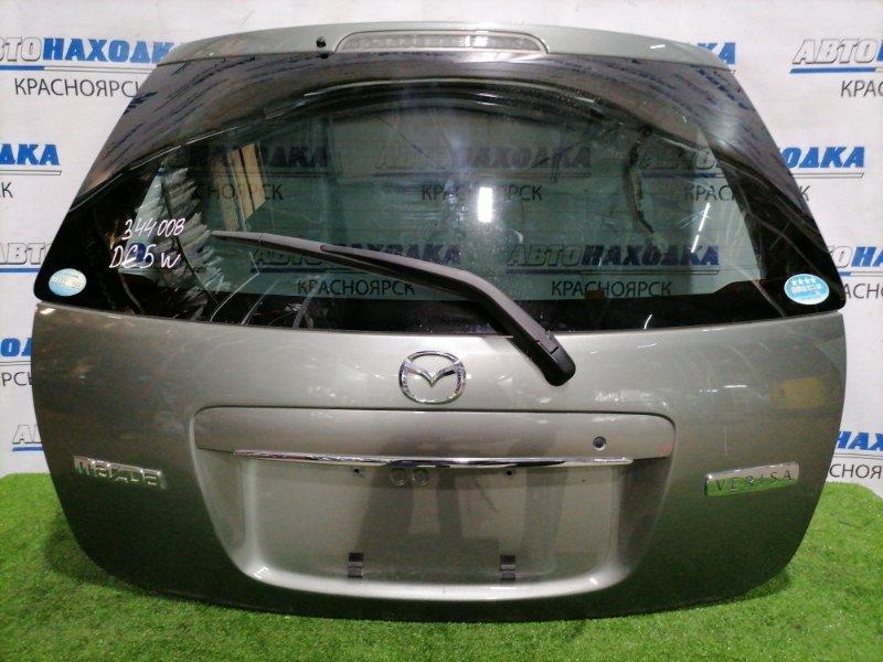 Дверь задняя Mazda Verisa DC5W ZY-VE 2004 задняя В сборе, цвет: 30R, с камерой заднего вида, есть 2