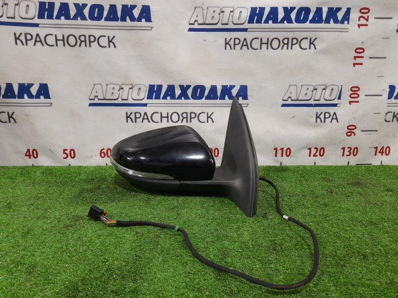 Зеркало Volkswagen Golf 5K1 CAXA 2008 переднее правое Правое, 9 контактов, с повторителем,