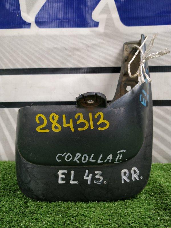 Брызговик Toyota Corolla Ii EL43 4E-FE 1990 задний правый 76625-16130 задний правый