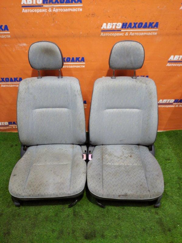 Сиденья Toyota Corolla Ii EL51 4E-FE 1994 пара ткань механические