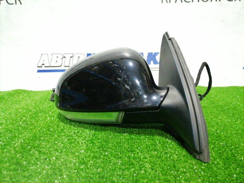 Зеркало Volkswagen Golf 1K1 BCA 2003 переднее правое правое, 9 контактов, с повторителем, есть