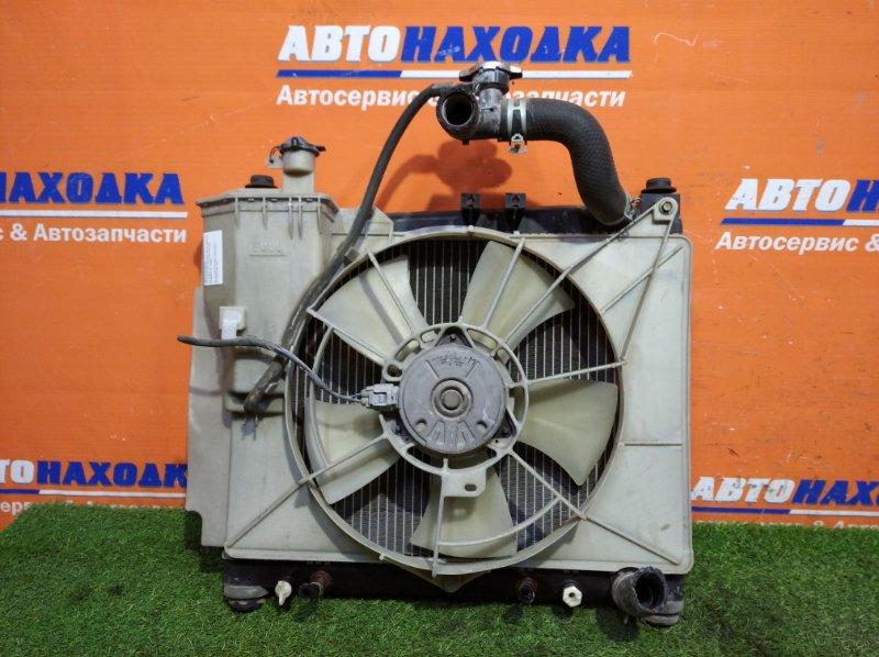 Радиатор двигателя Toyota Probox NCP50 2NZ-FE 2002 А/Т диффузор+1 вентилятор+бачок