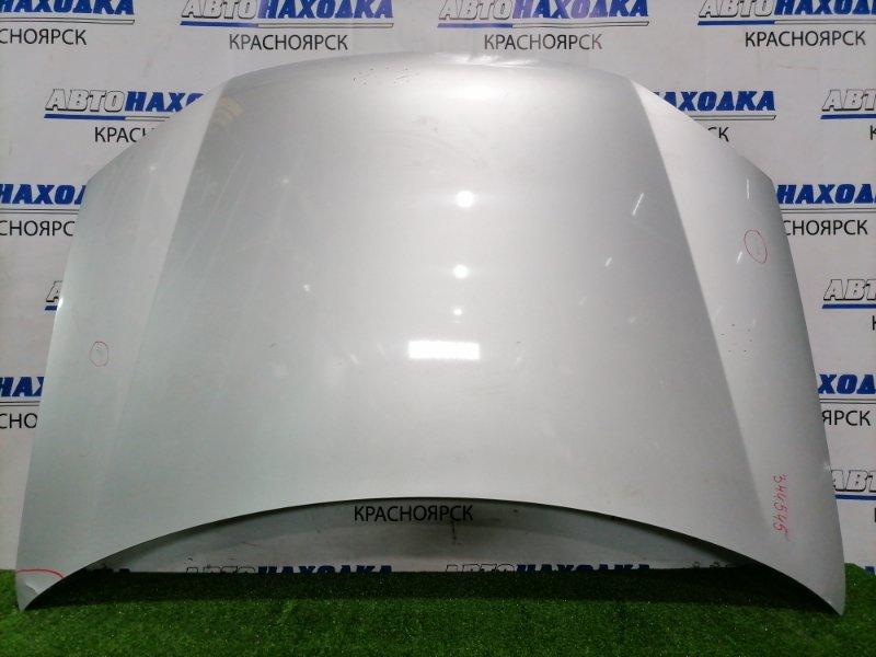 Капот Volkswagen Golf 1K1 BCA 2003 передний GOLF V, есть залом угла капота с повреждением ЛКП,