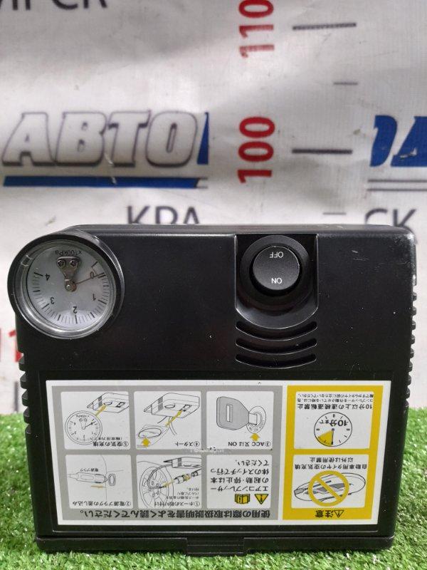 Компрессор автомобильный Toyota Штатный, от гнезда прикуривателя /DC=12V, 10A/, длина