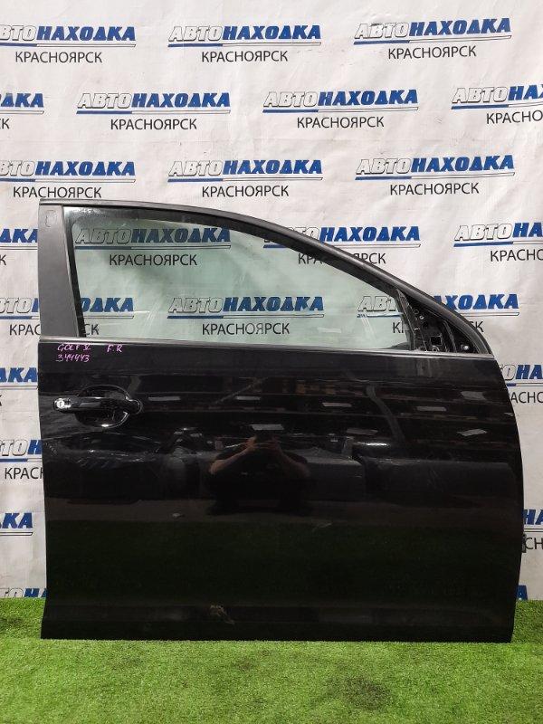 Дверь Volkswagen Golf 1K1 BCA 2003 передняя правая передняя правая, в сборе. Есть потертость, сколы,