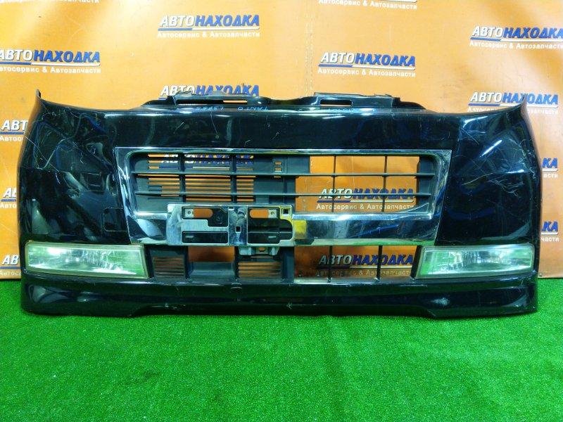 Бампер Daihatsu Tanto L375S KF-VE передний ТУМАНКИ 114-51943