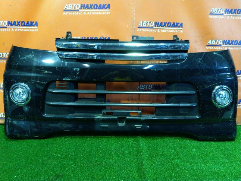 Бампер Daihatsu Atrai S320G EF-VE передний ТУМАНКИ 114-51753
