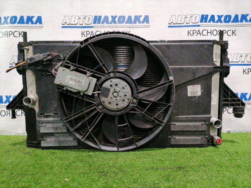Радиатор двигателя Volvo V50 MW66 B5244S 2003 3M51-8005-DA В сборе, с диффузором, вентилятором,