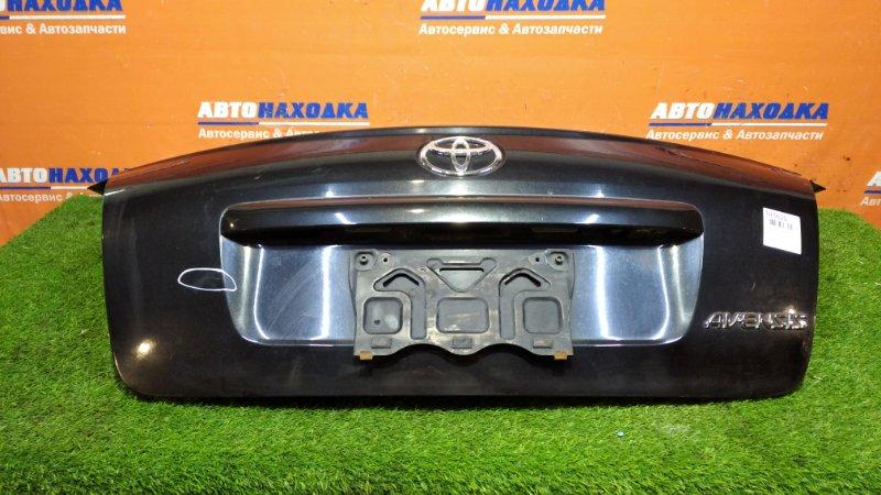 Крышка багажника Toyota Avensis AZT250 1AZ-FSE 2002 1мод есть вмятины и царапины