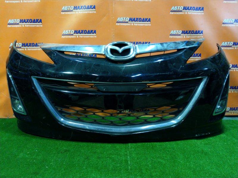 Бампер Mazda Biante CCEFW LF-VDS передний ТУМАНКИ +СОНАРЫ.