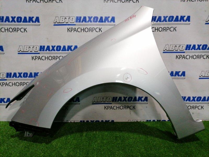Крыло Subaru Exiga YA5 EJ20 2008 переднее левое Переднее левое, с клипсой, накладкой в торец, есть 1