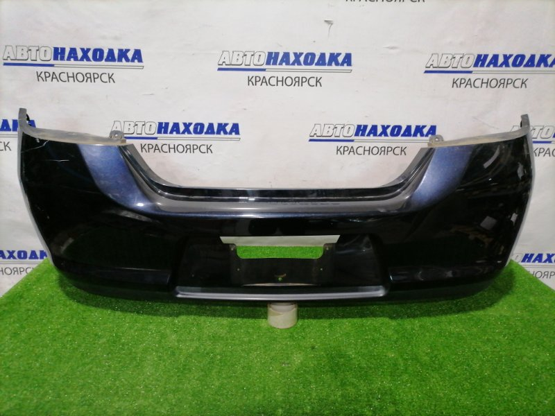 Бампер Nissan Tiida C11 HR15DE 2004 задний Задний, цвет B20. Есть потертости, царапины до пластика,