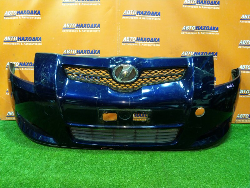Бампер Toyota Auris ZRE152H 2ZR-FE передний ТУМАНКИ. НЕТ ЛЕВОЙ ЗАГЛУШКИ ПОД БУКСИРОВОЧНЫЙ КРЮК