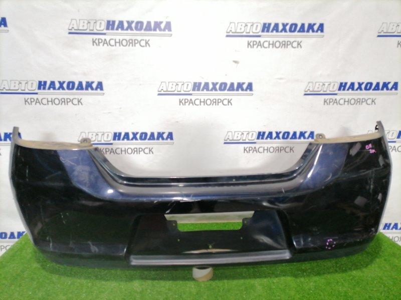 Бампер Nissan Tiida C11 HR15DE 2004 задний Задний, цвет B20. Есть потертости, царапины до пластика.