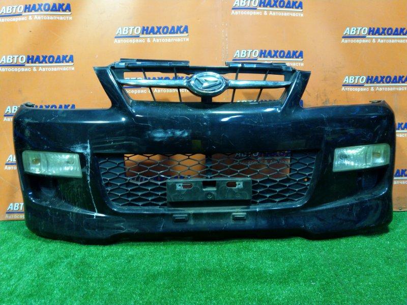 Бампер Daihatsu Terios Kid J111G EF-DEM передний ТУМАНКИ 114-51879