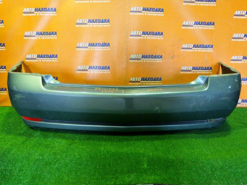 Бампер Nissan Primera TP12 QR20DE 01.2004 задний 85022-AW740 2MOD, SEDAN,