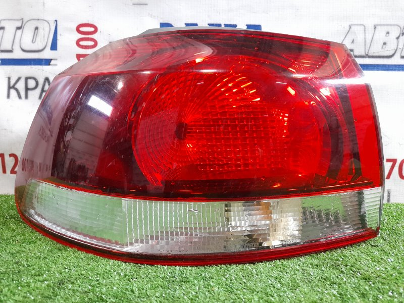 Фонарь задний Volkswagen Golf GOLF VI 2008 задний левый левый, хэтчбек, 5K0945095F. / GOLF VI