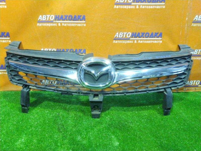Решетка радиатора Mazda Mpv LY3P L3-VE передняя ХРОМ. ОК