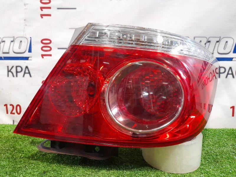 Фонарь задний Honda Fit Aria GD8 L13A 2005 задний правый P5512 Правый, рестайлинг, P5512.
