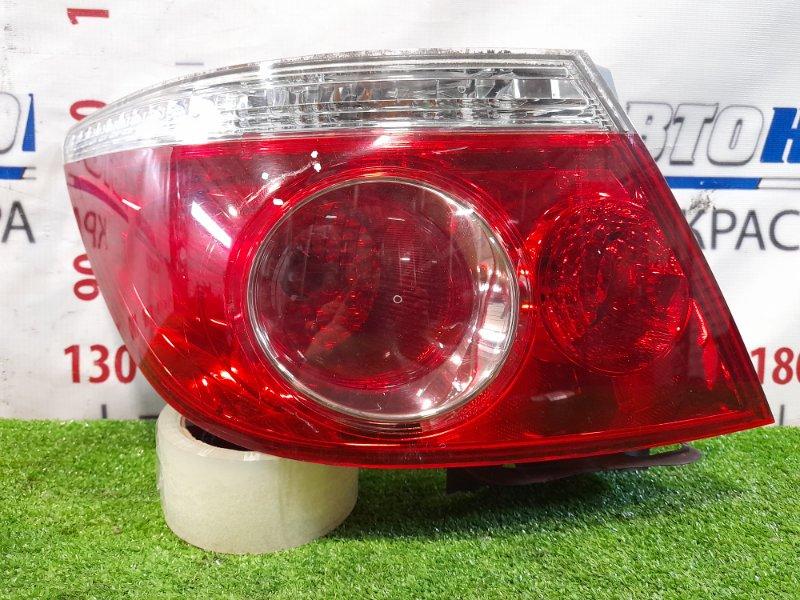 Фонарь задний Honda Fit Aria GD8 L13A 2005 задний левый P5512 Левый, рестайлинг, P5512. Небольшая