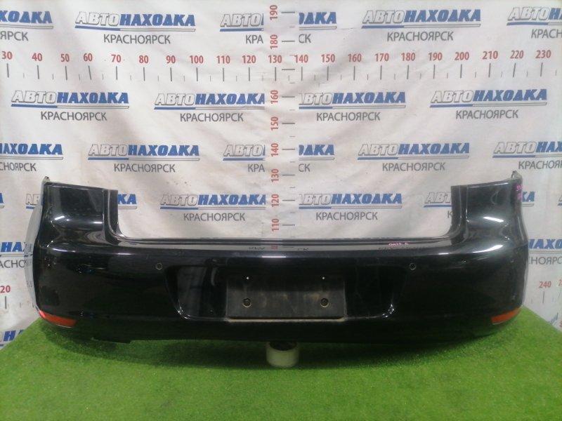 Бампер Volkswagen Golf 5K1 CAXA 2008 задний Задний, хетчбэк, с парктрониками, катафотами. Есть