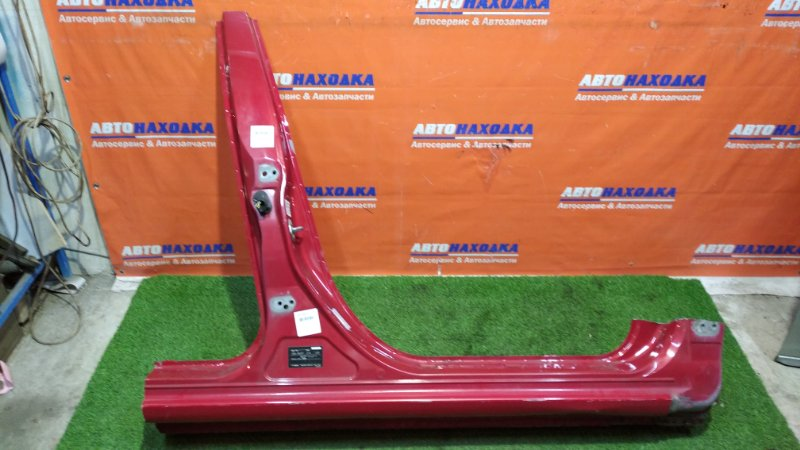 Стойка кузова Mazda Axela BK5P ZY-VE 2003 правая цвет 27A средняя+часть порога*замят