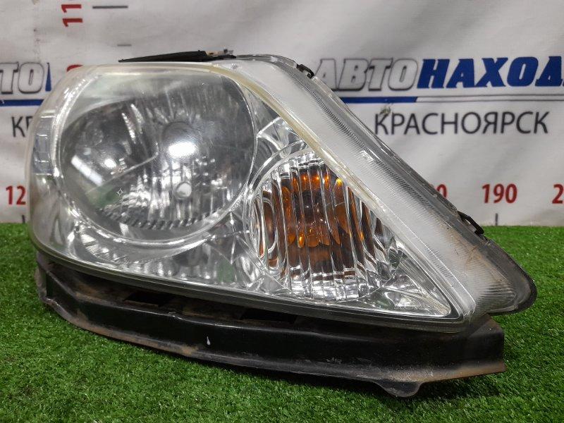Фара Honda Fit Aria GD8 L13A 2005 передняя правая P5660 Правая, рестайлинг, галоген, с корректором, с