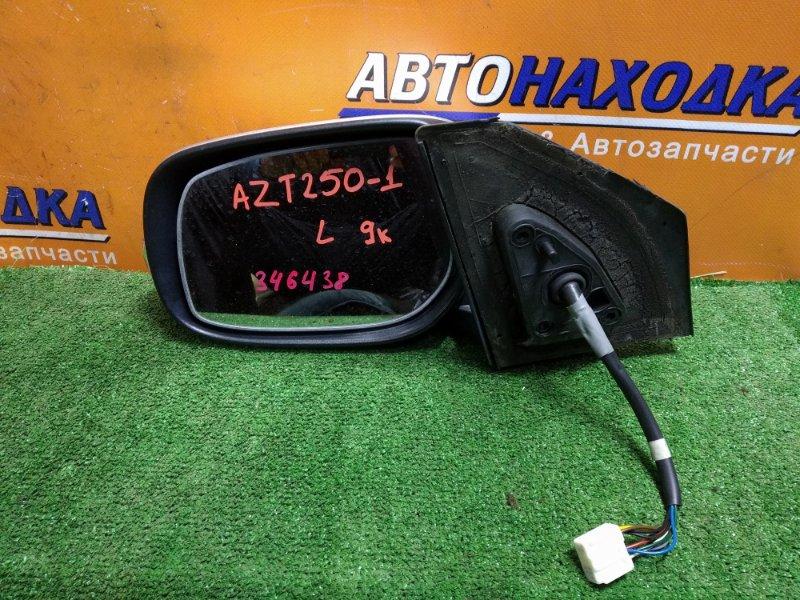 Зеркало Toyota Avensis AZT250 1AZ-FSE 01.2008 левое 9 КОНТАКТОВ, +ПОВТОРИТЕЛЬ 012136