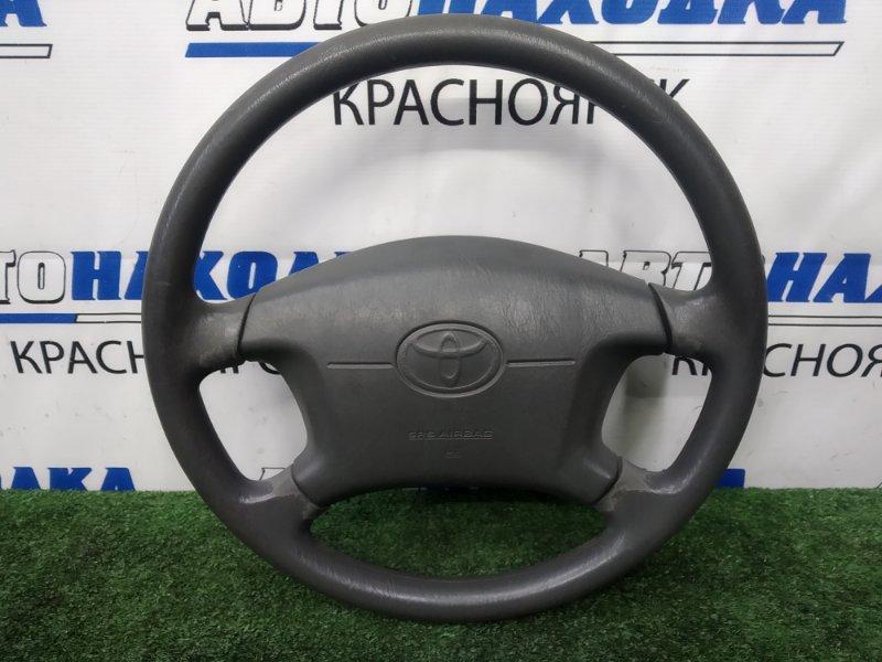 Airbag Toyota Chaser GX100 1G-FE 1996 правый водительский, с рулем, без заряда, темно-серый (FF60), есть