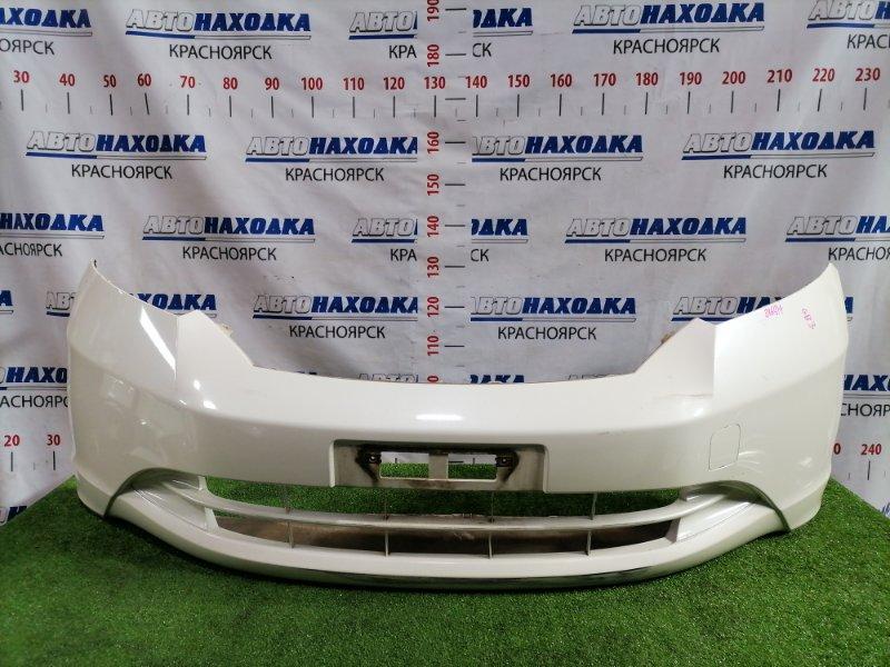 Бампер Honda Freed GB3 L15A 2008 передний передний, цвет NH624P, дорестайлинг, есть потертости до