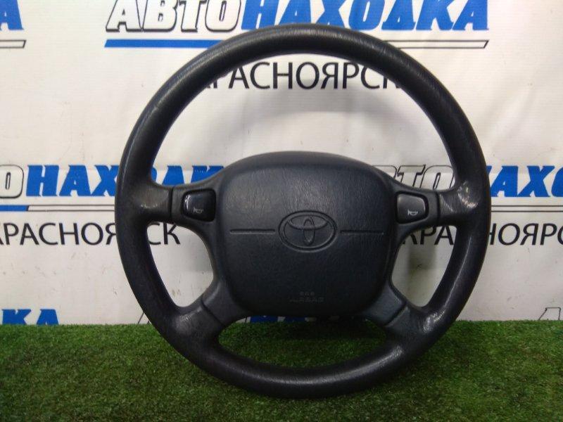 Airbag Toyota Curren ST206 3S-FE 1994 Водительский, с рулём - 4 спицы, без заряда, черный, код цвета