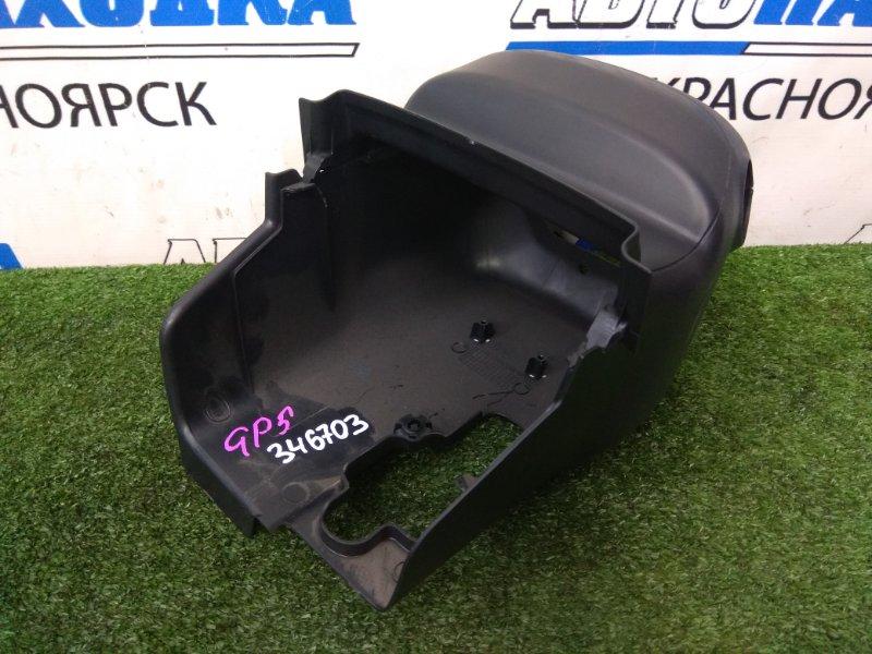 Кожух рулевой колонки Honda Fit GP5 LEB 2013 ХТС, из двух частей, черный