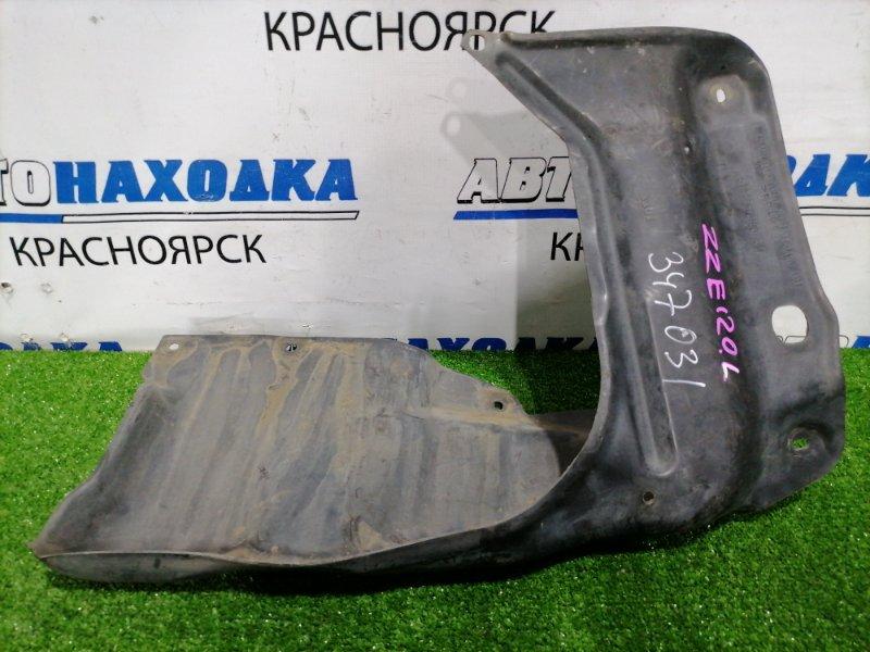 Защита двс Toyota Corolla Spacio ZZE122N 1ZZ-FE 2001 передняя левая Передняя левая