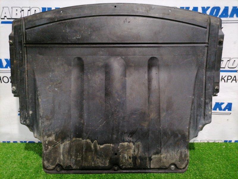 Защита двс Bmw 316Ti E46 N46B18 2001 передняя Передняя, сплошная