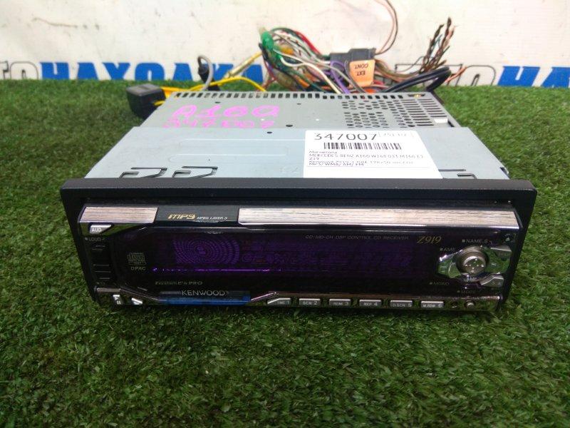 Магнитола Mercedes-Benz A160 W168.033 M166 E16 2001 Z19 Kenwood Z919, 1 DIN, 178x50 мм, CD/ MP3/ WMA/ AM/ FM