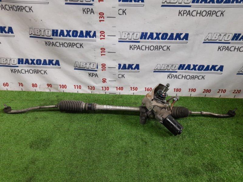 Рейка рулевая Honda Fit Aria GD8 L15A 2002 электро, в сборе с тягами и наконечниками, пыльники