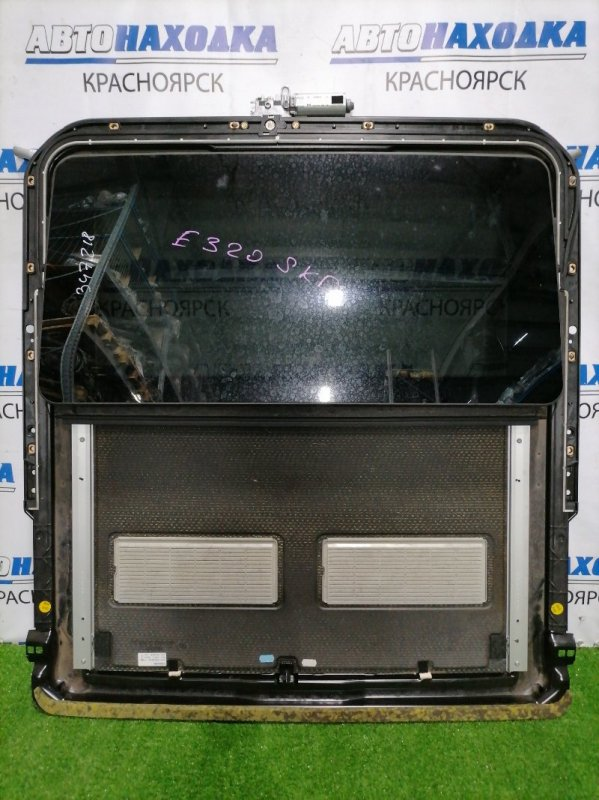 Люк Mercedes-Benz E320 211.065 112.949 2002 электрический сдвижной в сборе: размер стекла 845мм*435мм,