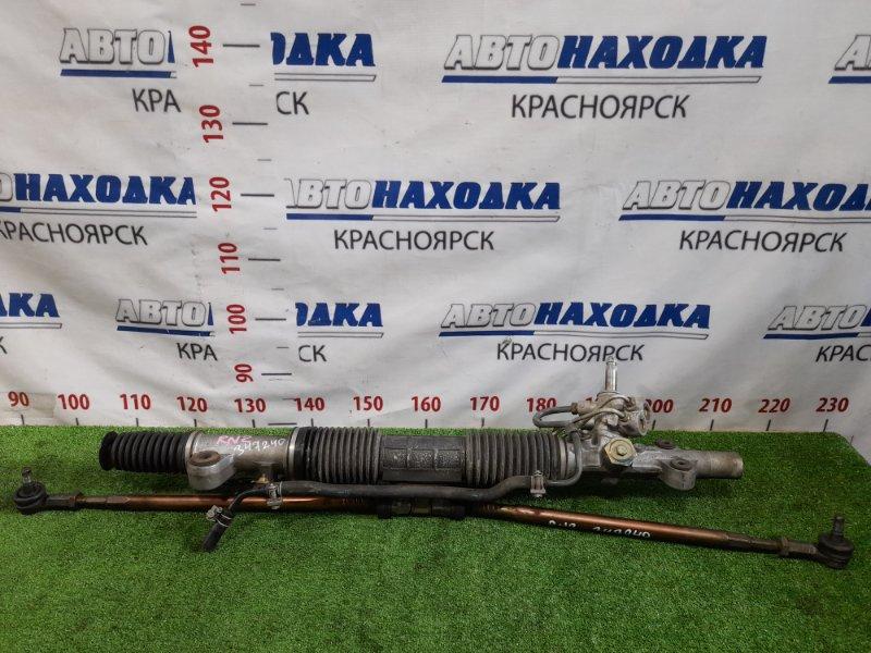 Рейка рулевая Honda Stream RN2 D17A 2000 гидравлическая, в сборе с тягами и наконечниками,