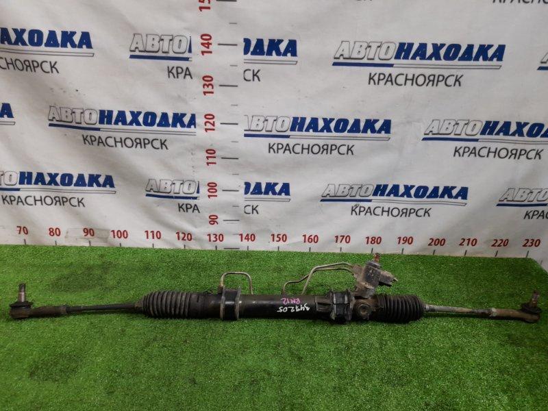 Рейка рулевая Nissan Liberty RM12 QR20DE 2001 гидравлическая, в сборе с тягами и наконечниками.