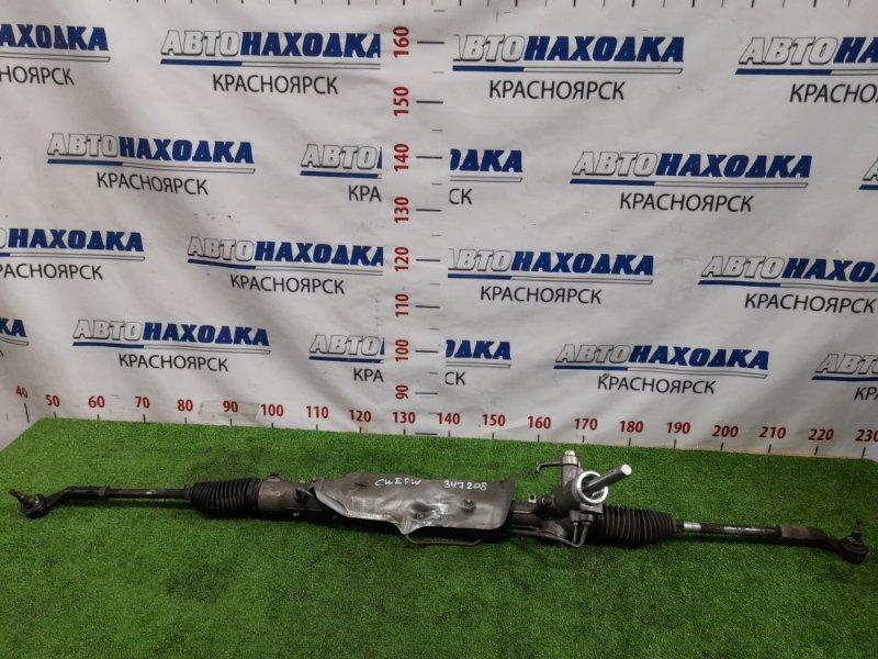 Рейка рулевая Mazda Premacy CWEFW LF-VD 2011 Гидравлическая, в сборе с тягами и наконечниками,