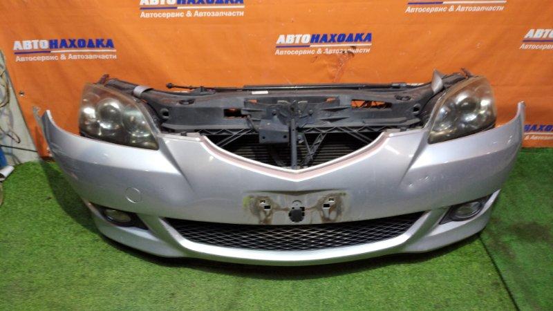 Ноускат Mazda Axela BKEP LF-DE 2003 1мод, цвет 22V ,бампер под покраску, +туманки, фары ксенон с