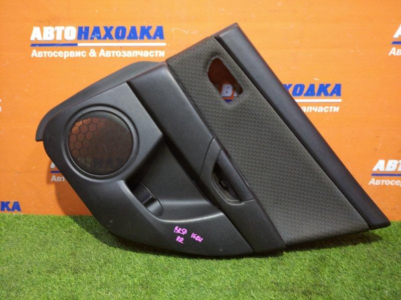 Обшивка двери Mazda Axela BK5P ZY-VE 2003 задняя правая