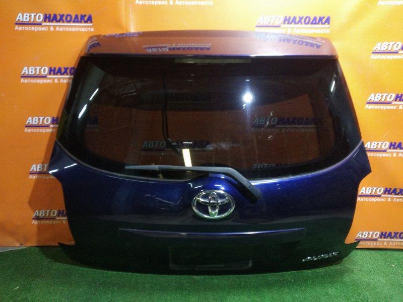 Дверь задняя Toyota Auris ZRE152H 2ZR-FE +СПОЙЛЕР