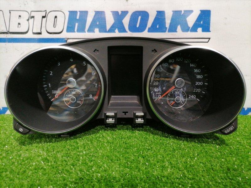 Щиток приборов Volkswagen Golf 5K1 CAXA 2009 Golf VI CAX 1.4 TSI, с японского рынка правый руль, пробег 91