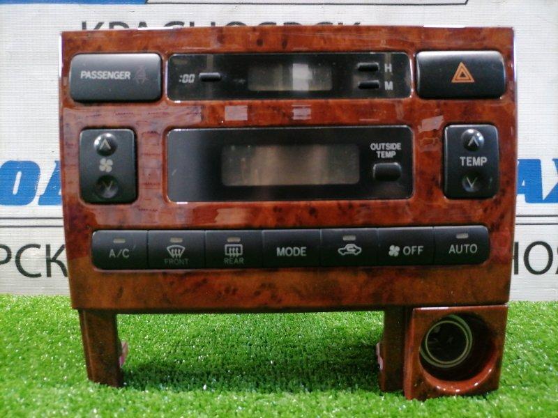 Климат-контроль Toyota Corolla Spacio ZZE122N 1ZZ-FE 2001 Электронный. Под дерево, с прикуривателем,