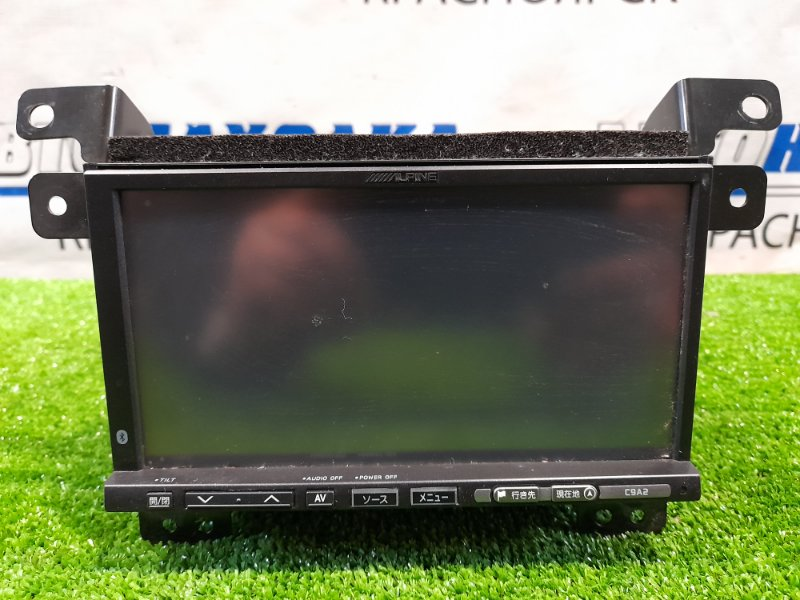 Магнитола Mazda Biante CCEFW LF-VDS 2008 C9A2V6650 ALPINE C9A2, CD/ MP3/ DVD/BT/SD, с креплениями и фишками. C USB и
