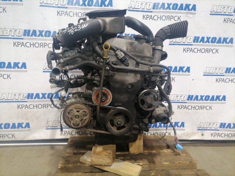 Двигатель Suzuki Jimny JB23W K6A-T 1998 5016670 № 5016670 пробег 89 т.км. 03.1999 г.в. Турбо. Без генератора,